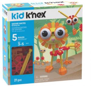 Kid K'NEX - Safari Mates - Bouwset - 21 onderdelen
