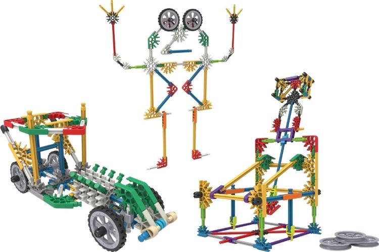 K'NEX speelgoed kunstwerken