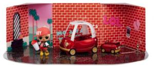 L.O.L. Surprise Furniture - Cozy Coupe Auto's met M.C. Swag