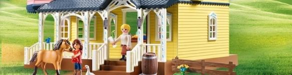 Playmobil huisjes
